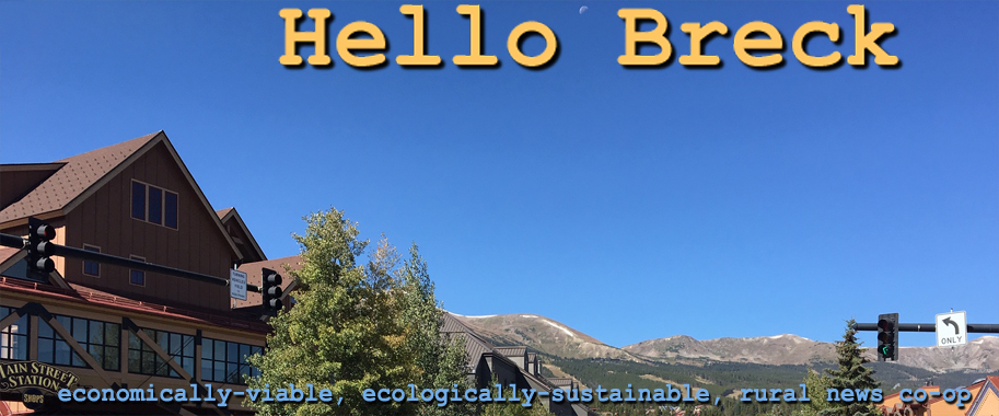 Hello Breck will be the primary local news resource prepared by citizen journalists as print goes out of fashion